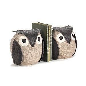 Owl book ends, sure I could try and make these!