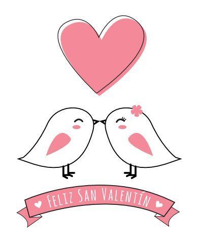 Tarjetas de San Valentín para imprimir. Valentine's Day http://manualidades.euroresidentes.com/2014/01/las-20-mejores-tarjetas-romanticas-para.html: