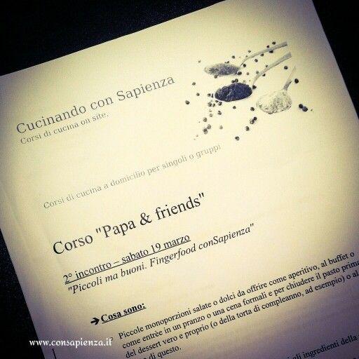 Corsi on site #consapienza