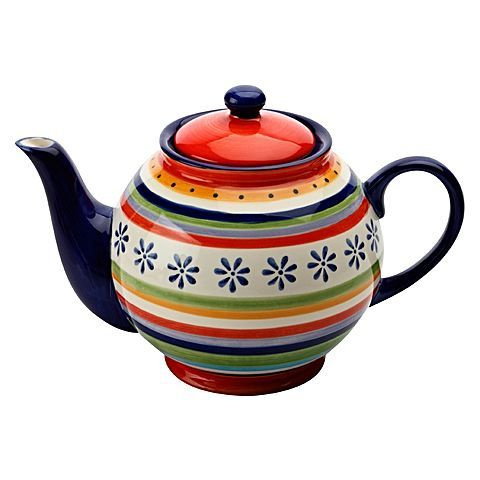 Invigorate your afternoon with your favourite cup of tea from the Ipanema Teapot, 1.5L from Casa Domani.