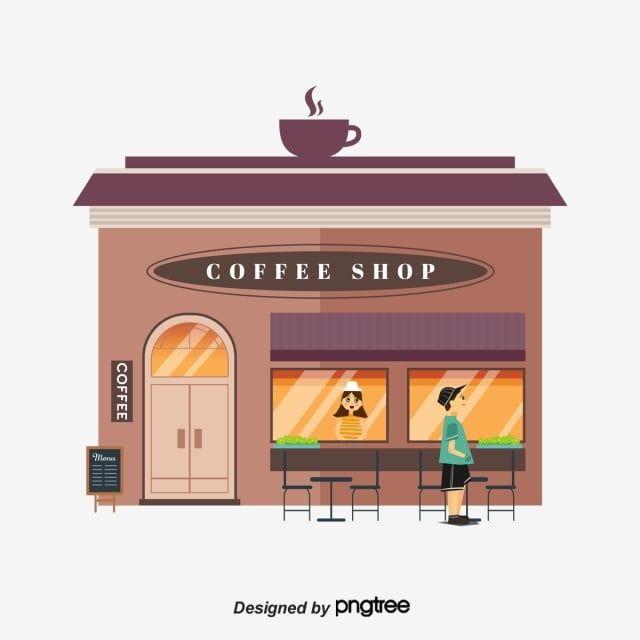Gambar Elemen Pedagang Kedai Kopi Jalan Kartun Datar Karakter Penjual Kartun Png Transparan Clipart Dan File Psd Untuk Unduh Gratis Kedai Kopi Kartun Kopi
