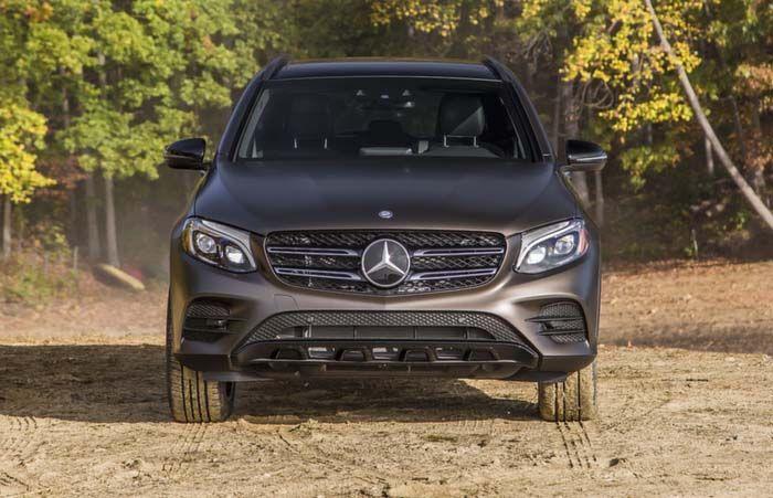 2018 Mercedes-Benz GLC overview
