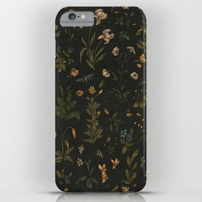 Old World Florals iPhone & iPod Case