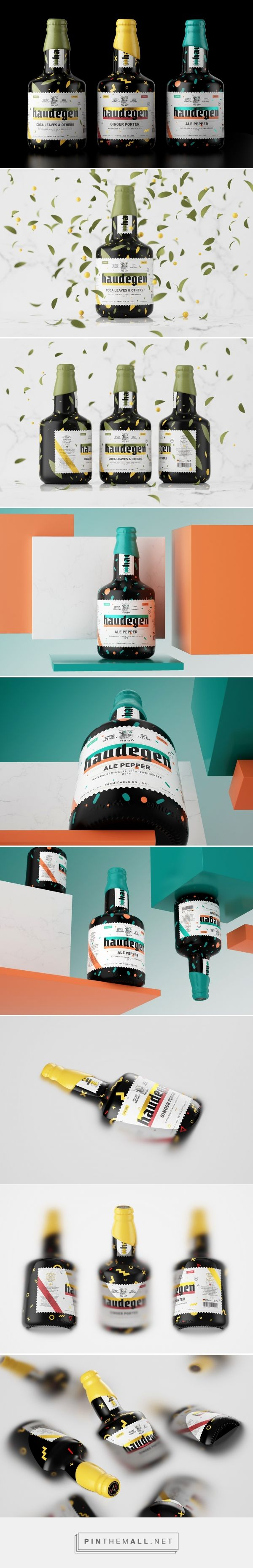 HAUDEGEN BEER Packaging by Constantin Bolimond | Fivestar Branding Agency – Design and Branding Agency & Curated Inspiration Gallery