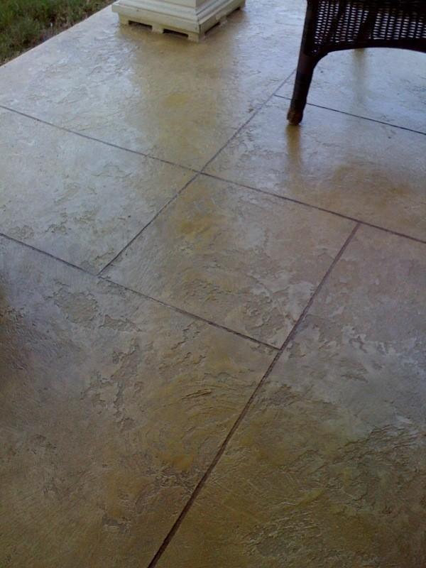 Scored Concrete Flooring : Best images about concrete patio on pinterest stains