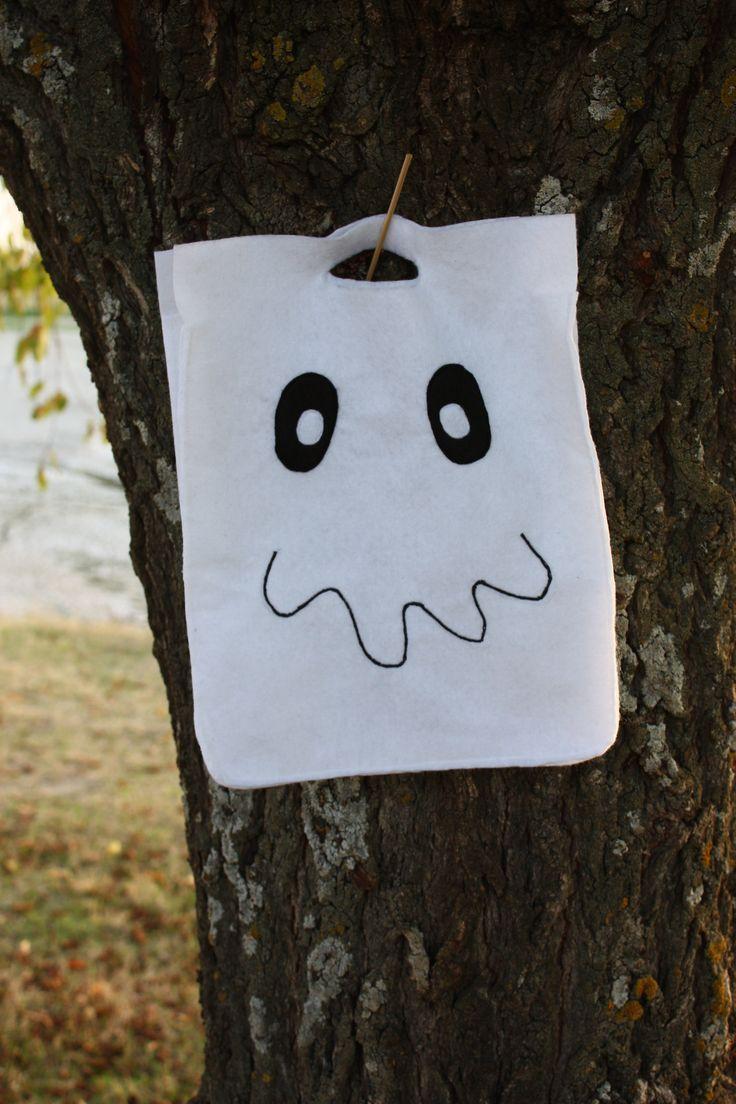 Halloween Ghost Bag  --   Bolsa Fantasma Halloween