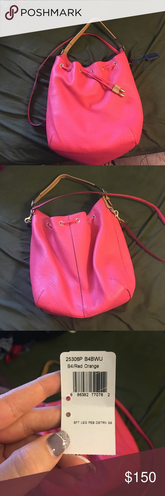 Coach legacy drawstring Like new limited additions coach draw string Coach Bags Shoulder Bags
