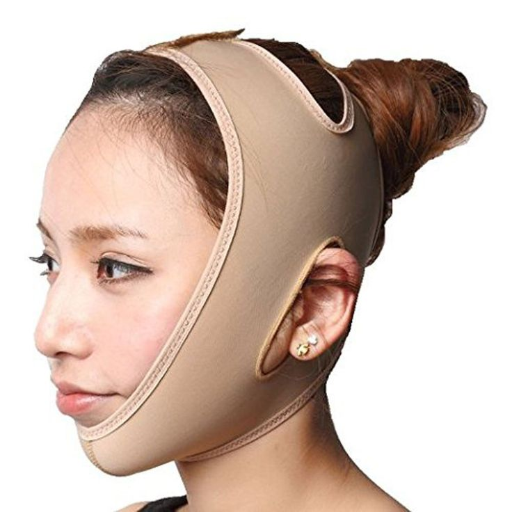 KOLIGHT® Anti Wrinkle V Full Face Chin Cheek Lift up Slim Slimming Thin Mask Belt Band Strap (M) *** Continue to the product at the image link. (Note:Amazon affiliate link)