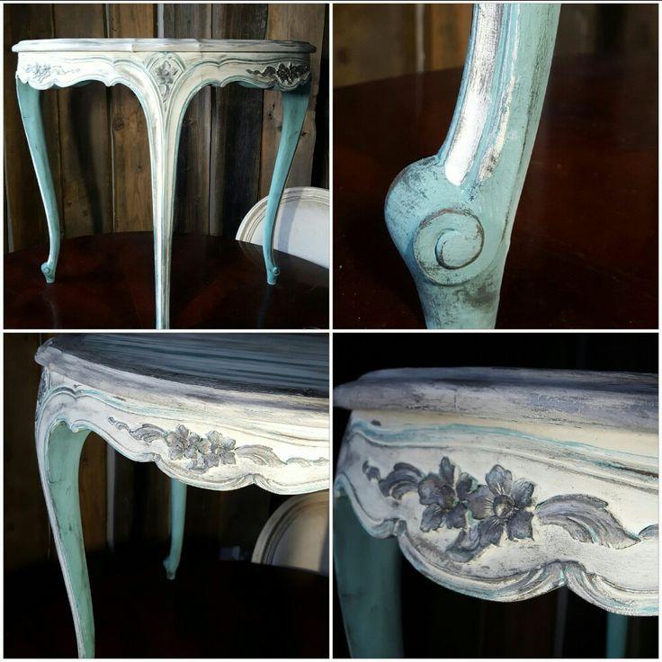 Provence +Old White +Paris Grey + black wax Annie Sloan ❤