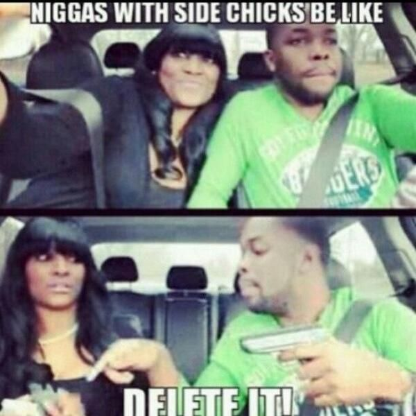 Side Chicks Be Like | Side Chicks Be Like. .lol - Romance - Nairaland
