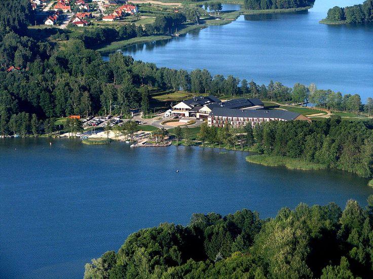 Luxus w środku jeziora....