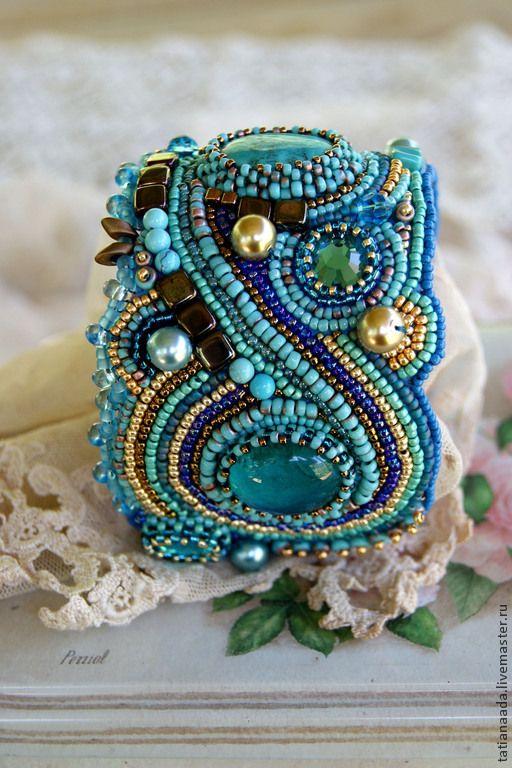 Бирюзовый браслет #jewelry #bracelet #handmade