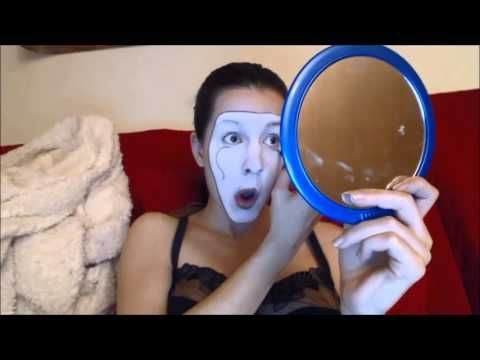Mime Makeup Tutorial, with a dramatic back story. Informative and hysterical.