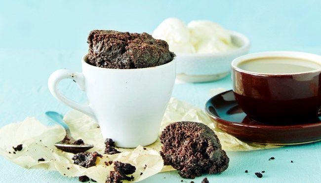 Suklaakakku mikrossa - K-ruoka