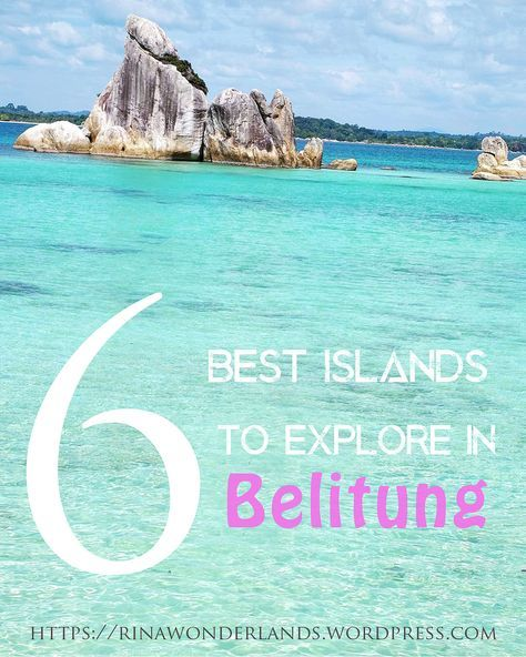 Belitung is an unspoiled and laid back tropical paradise in Indonesia which famous for its magnificent granite rock formations scenery, clear blue water and white sand #beaches. Read this blog from #rinawonderlands , if you wanna know more about the #island, to #travel , #relax and enjoy the #nature.   https://rinawonderlands.wordpress.com/2016/09/19/6-best-islands-to-explore-in-belitung/   #pinterest #travel #ideas #placestogo #bestdestinations