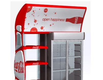 Coca Cola - Point of Purchase - Plastic