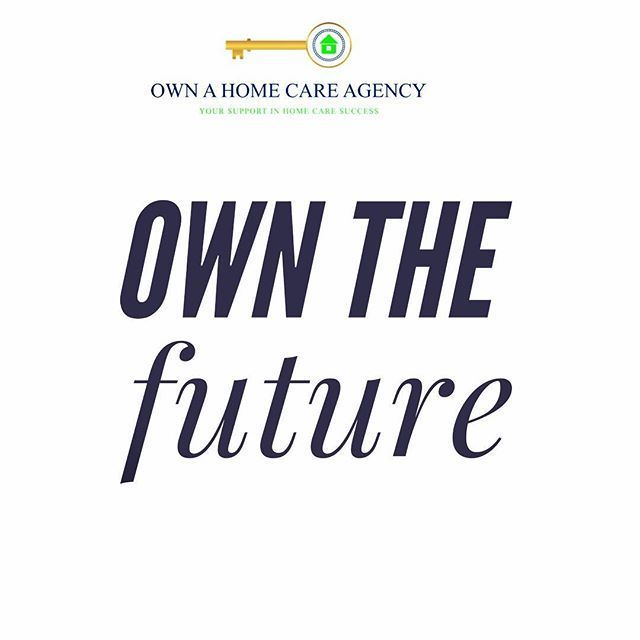 Own the future  #purpose #businesswoman #businessman #brand #success #homecare #seniors #webdesign #content #creative #marketing #winning #youcandoit #youcandoit #homecare #seniorcare #money #wealth #seniorhousing #seniors #55plus #55condos - posted by Own A Home Care Agency https://www.instagram.com/ownahomcareagency - See more Senior Care and 55+ Community detailes at https://55.condos