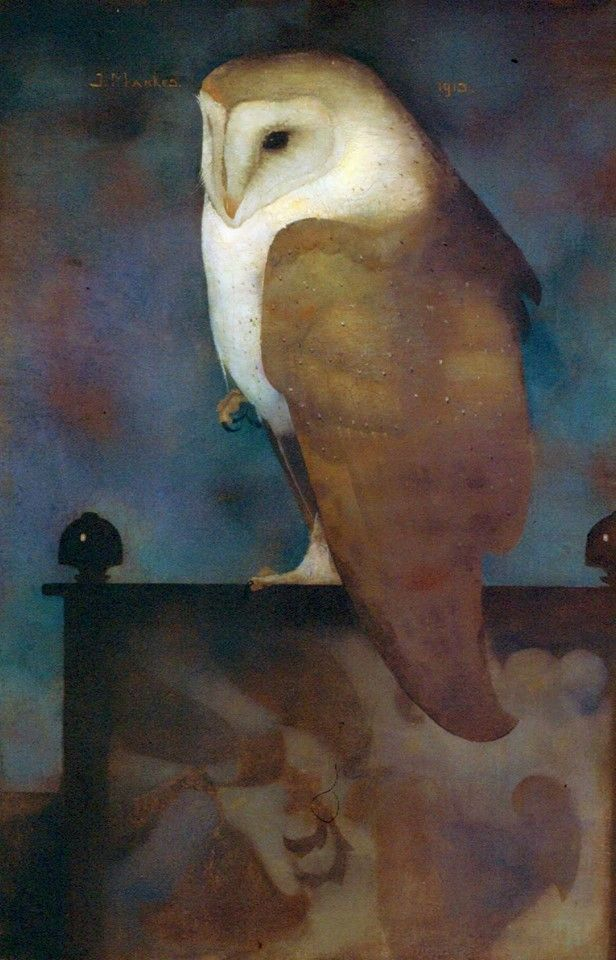 Jan Mankes - Big Barn Owl -