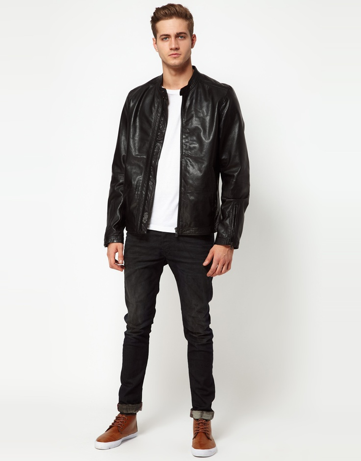 The Leather Jacket For Man, Always In Vogue Style
