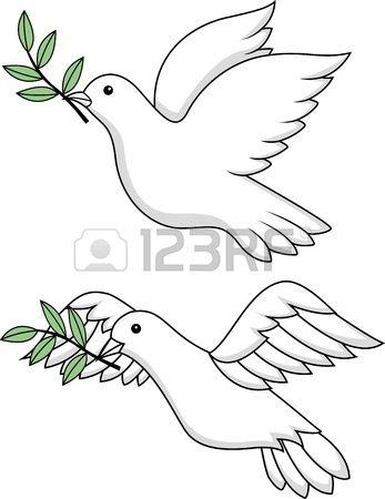 White dove symbol