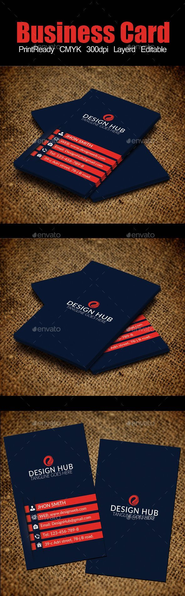 Best 25 vertical business cards ideas on pinterest business vertical business card template magicingreecefo Images