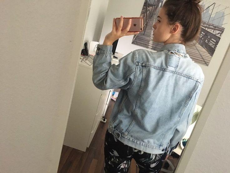 Jeansjacke oversize damen vintage
