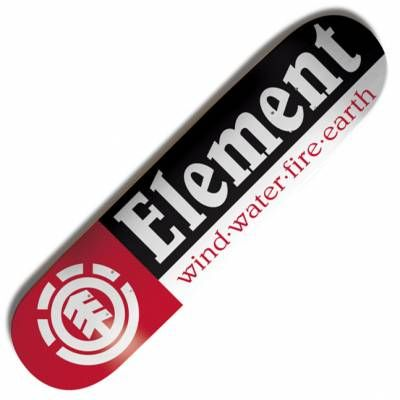 Element Skateboards Element Section Skateboard Deck 7.75''