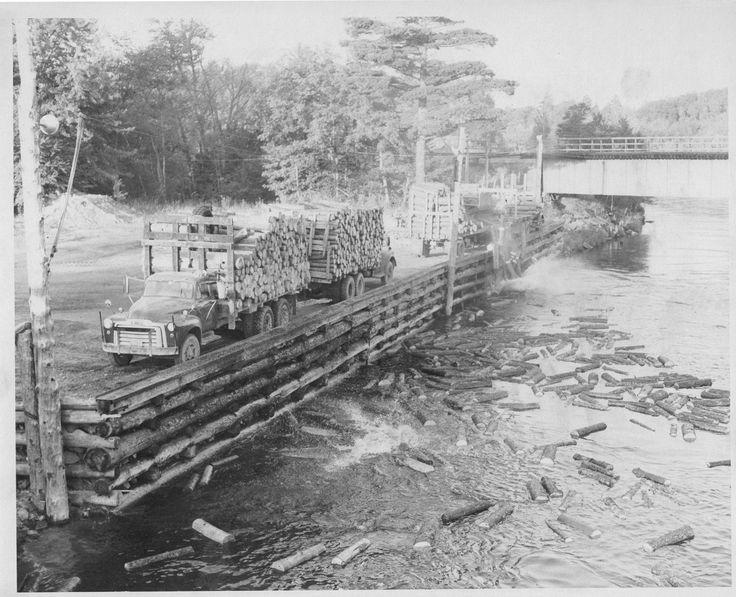 Vintage Maine Logging