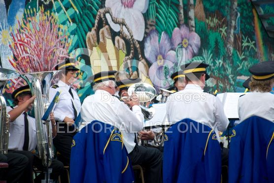 Takaka Citizens' Band, Golden Bay, Tasman Region royalty-free stock photo