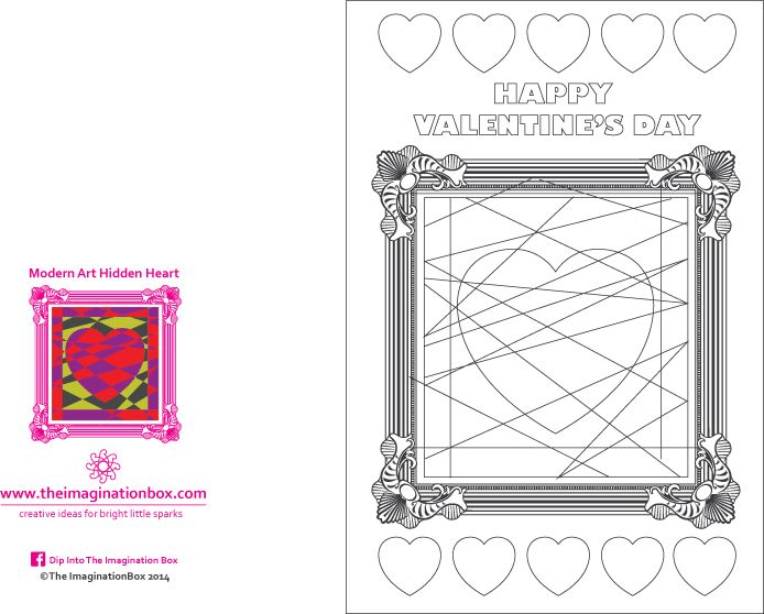 The 25 best Valentines day card templates ideas – Valentine Day Cards Templates