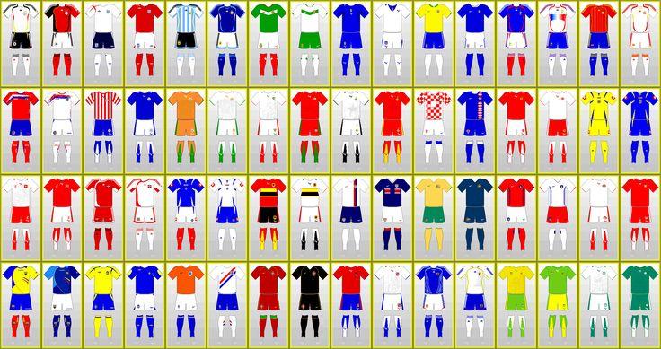 Fußball-Weltmeisterschaft Uniformen: DEUTSCHLAND 2006