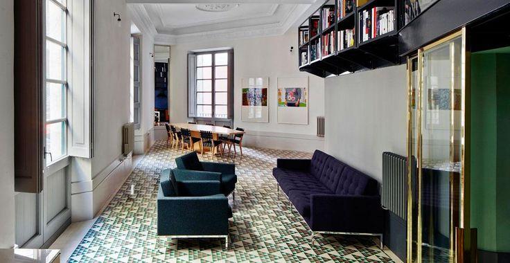 Appartamento a Barcellona di David Kohn Architects - Living #case