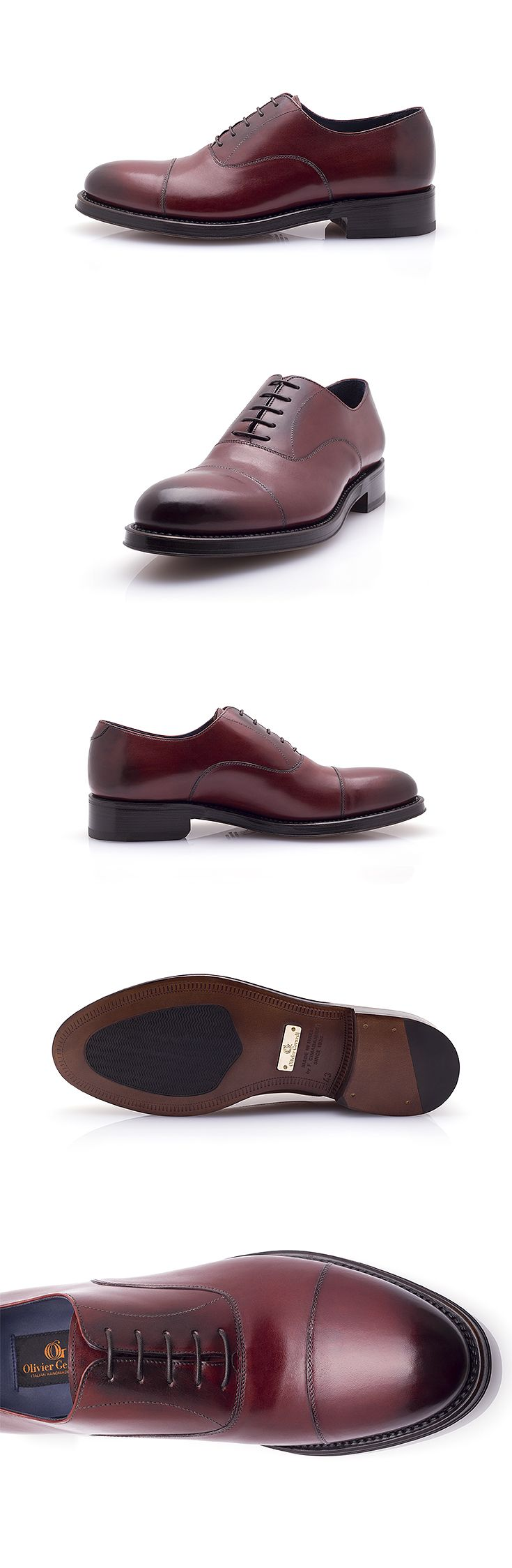 The Paladino is a classic Oxford shoe, ideal for your formal and elegant outfits. However, the subtle nuances of its patina will make you stand out from the crowd in a discreet but indisputable way. #shoes #oxford #goodyear #luxury #burgundy