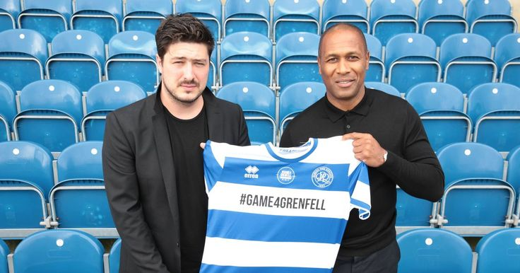 nice Footballers and celebrities unite for Game for Grenfell to raise funds for those affected by disaster