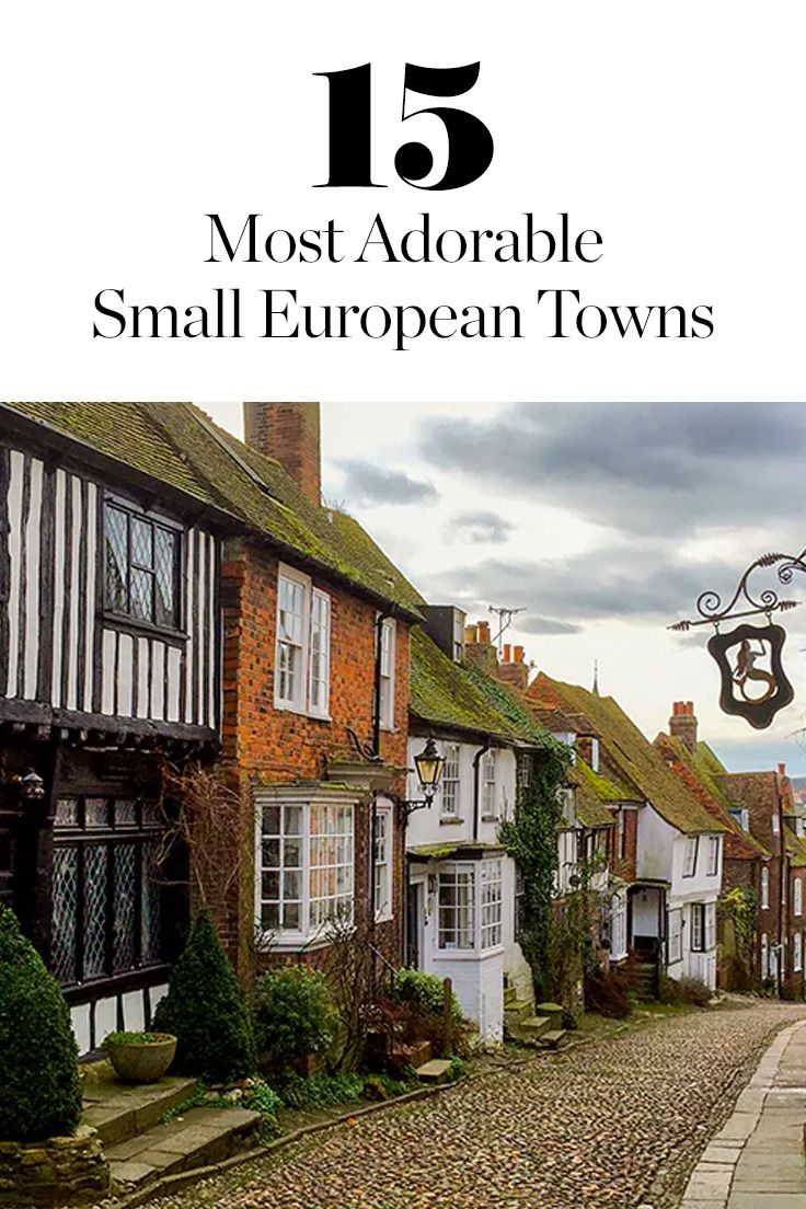 You probably haven't been to these 15 incredible small towns across Europe. Full of picturesque charm, history and character, they're worth a spot on your travel bucket list.