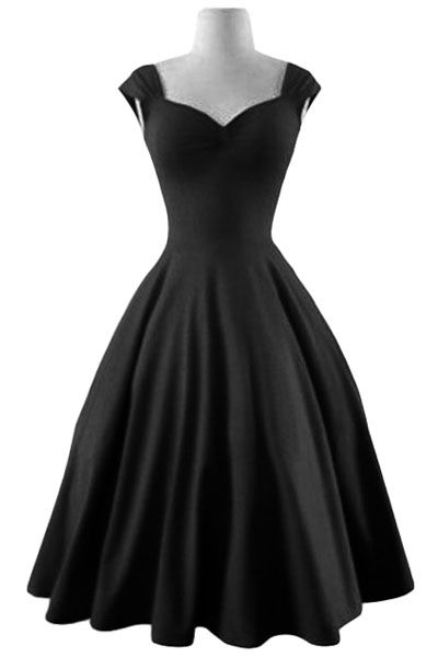 Reversible Solid Color Ball Gown Dress BLACK: Maxi Dresses | ZAFUL