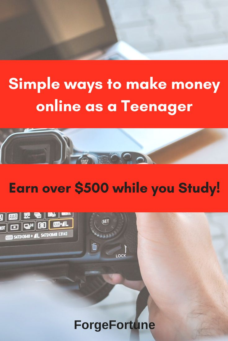 13 Simple Ways to Make Money as a Teen – Make Money From Home Online | Best Work At Home Jobs