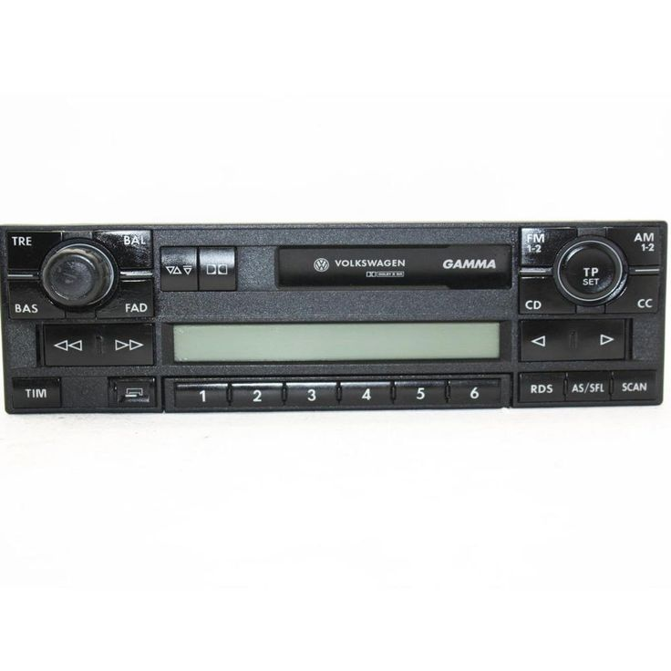 Vw Volkswagen Gamma Car Radio Cassette Player Polo Lupo Golf Passat Seat  Vw