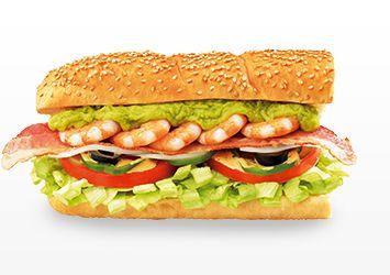 Subway Japan - Cobb Salad Sandwich