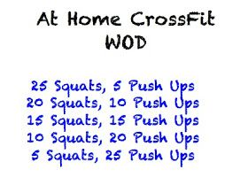 At Home CrossFit Workouts!