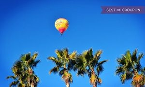Groupon - Sunrise Hot-Air Balloon Ride for One or Two from Vegas Balloon Rides (Up to 42% Off). Four Options Available. in Las Vegas. Groupon deal price: $169