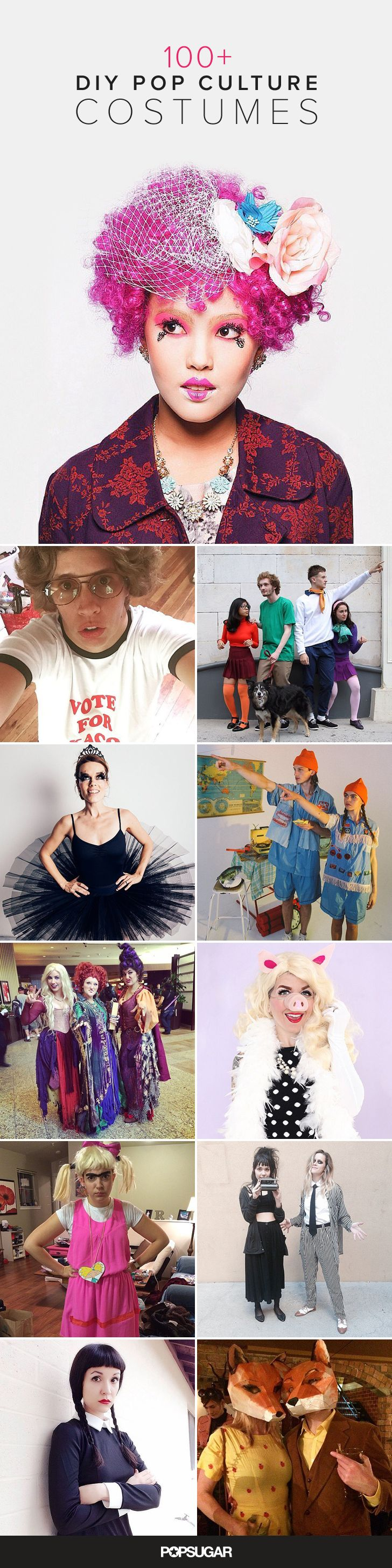 The easiest place to draw inspiration for a Halloween costumes this year is right in front of you — your TV and computer screens. Take a cue from pop culture and dress up like your favorite characters from movies and shows.