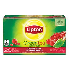 Lipton Green Tea Cranberry Pomegranate at Walgreens. Get free shipping at $35 and view promotions and reviews for Lipton Green Tea Cranberry Pomegranate