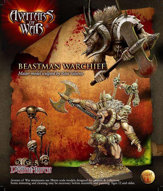 Jefe Hombre Bestia avatars of wars