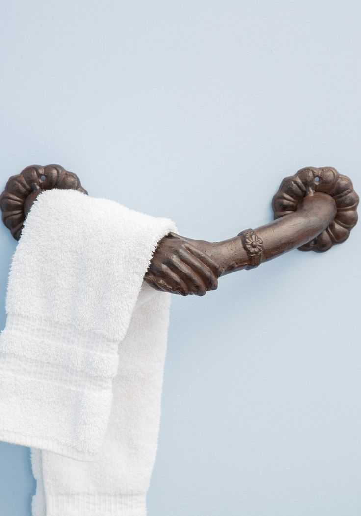 1000 Ideas About Hand Towel Holders On Pinterest Bathroom Towel Hooks Curtain Clips And