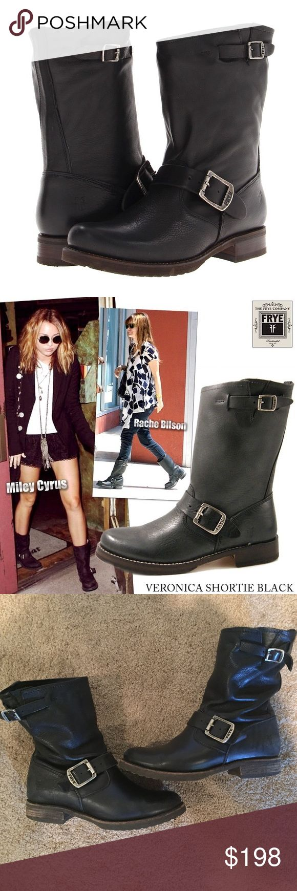 Frye Veronica Short Boot Amazing boots. Only worn a handful of times. Frye Shoes
