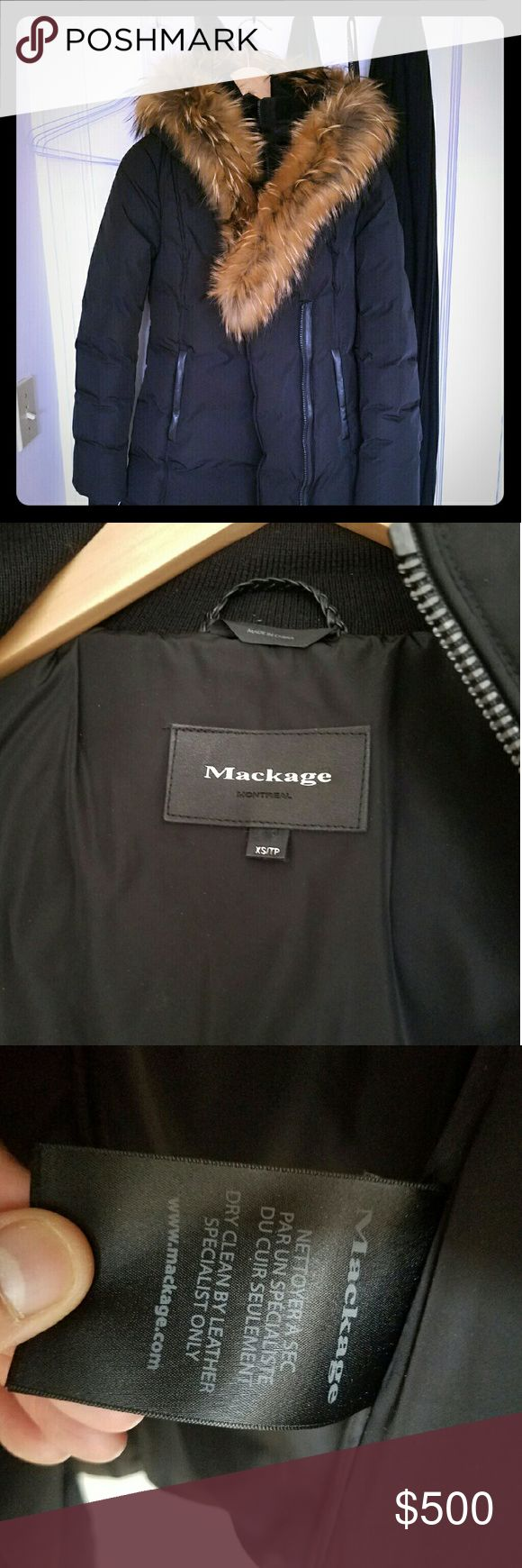 Brand new Mackage jacket Brand new, no tag Mackage jacket with Japanese racoon fur. Mackage Jackets & Coats Puffers
