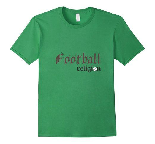 Amazon.com: Elexonic Custom Products:Football Religion T-Shirt: Clothing