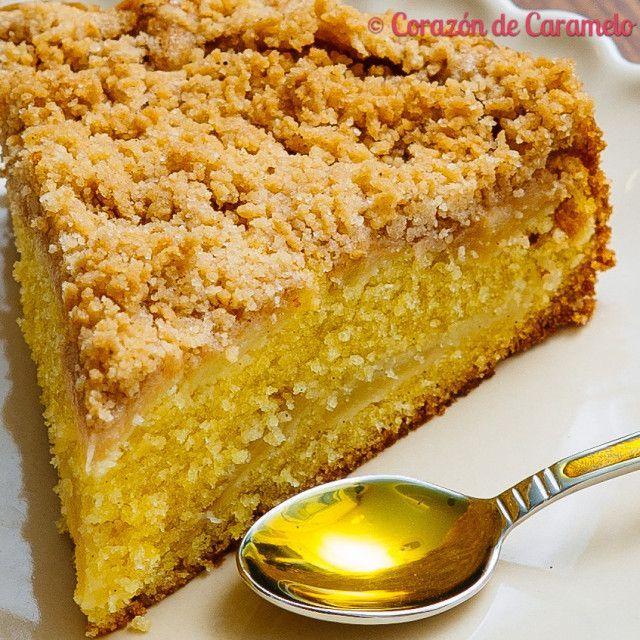 Pastel alemán de manzana con Streusel PROBADA esta rica y huele... Un 7