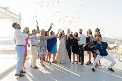 Dreamy Wedding at Santorini Gem by Phosart Photography & Cinematography